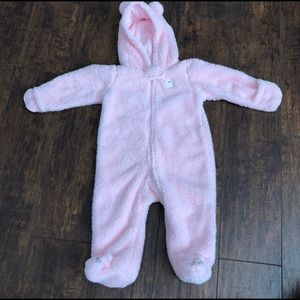 Carter's 9m Pink Snow Outfit